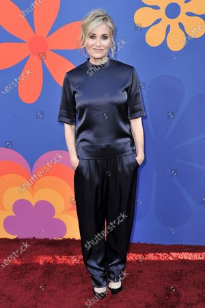 """Maureen McCormick attends the premiere of """"A Very Brady Renovation"""", in Los Angeles. McCormick turns 64 on Aug. 5"""