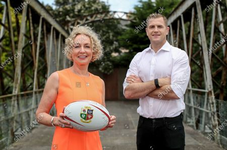Editorial image of Vodafone Announcement As Lead Partner For The 2021 British & Irish Lions Tour of South Africa - 27 Jul 2020