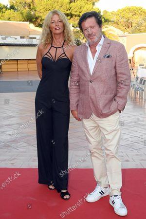 Joaquim de Almeida and wife