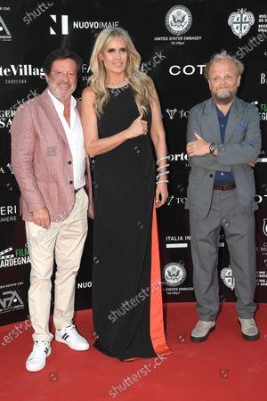Stock Picture of Joaquim de Almeida, Tiziana Rocca and Toby Jones