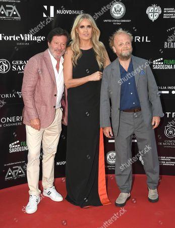 Stock Image of Joaquim de Almeida, Tiziana Rocca and Toby Jones