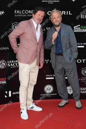 Joaquim de Almeida and Toby Jones
