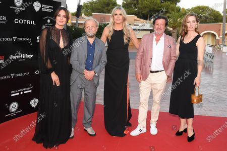 Editorial image of Filming Italy Sardegna Festival, Santa Margherita di Pula, Forte Village, Sardinia - 24 Jul 2020