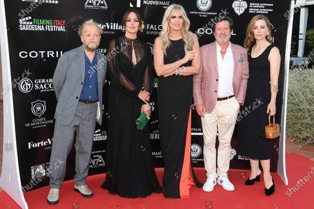 Editorial picture of Filming Italy Sardegna Festival, Santa Margherita di Pula, Forte Village, Sardinia - 24 Jul 2020