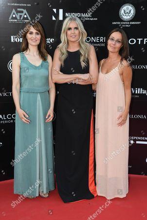 Maria Sole Tognazzi and Paola Cortellesi and Tiziana Rocca