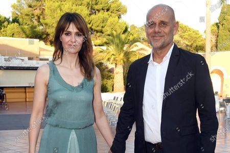 Paola Cortellesi and Riccardo Milani