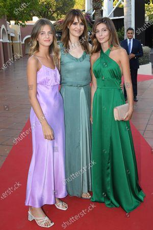 Gaia Girace, Paola Cortellesi and Margherita Mazzucco