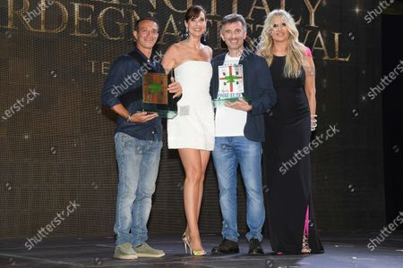 Stock Photo of Carol Alt, Tiziana Rocca and Ficarra and Picone