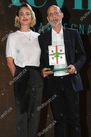 Stock Image of Gianmarco Tognazzi, Nora Arnezeder Gianmarco Tognazzi, Nora Arnezeder Gianmarco Tognazzi, Nora Arnezeder