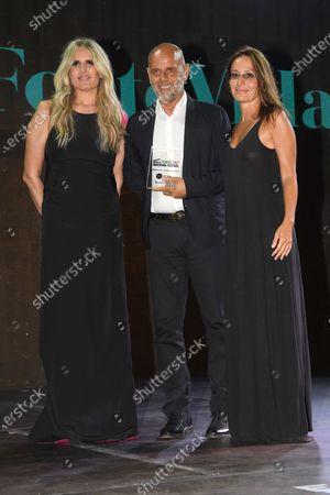 Tiziana Rocca, Riccardo Milani and Maria Sole Tognazzi