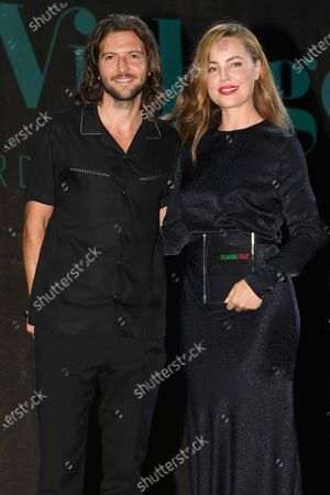 Stock Picture of Guy Burnet and Melissa George