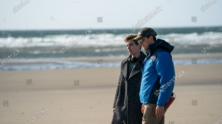 Stock Picture of Dan Stevens as Charlie and Dave Franco Director