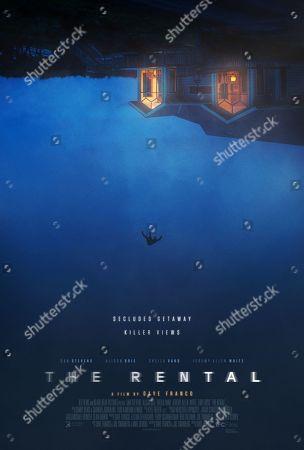 The Rental (2020) Poster Art.