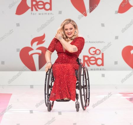 Editorial photo of American Heart Association's Go Red for Women, Arrivals, New York, USA - 05 Feb 2020
