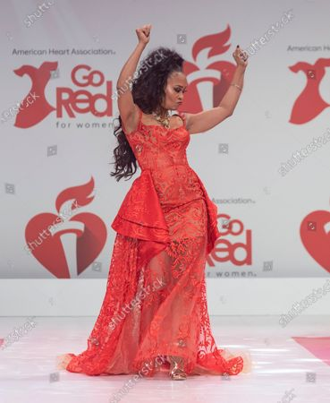 Editorial picture of American Heart Association's Go Red for Women, Arrivals, New York, USA - 05 Feb 2020