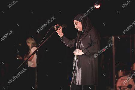 Editorial photo of Sinead O'Connor in concert, Campus Industry Music, Parma, Italy - 18 Jan 2020