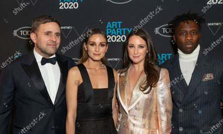 Stock Picture of Michael Carl, Olivia Palermo, Micaela Erlanger, Nigel Sylvester attend Whitney Contemporaries Art Party at Whitney Museum of American Art
