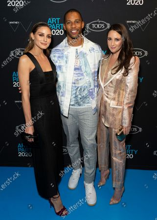 Olivia Palermo, Victor Cruz, Micaela Erlanger attend Whitney Contemporaries Art Party at Whitney Museum of American Art