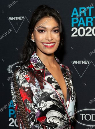 Pritika Swarup attends Whitney Contemporaries Art Party at Whitney Museum of American Art