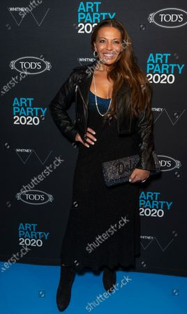 Stock Image of Dolores Catania attends Whitney Contemporaries Art Party at Whitney Museum of American Art