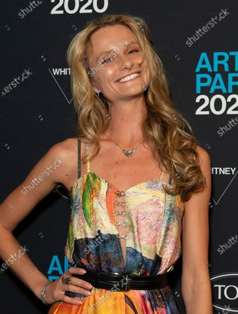 Stock Photo of Elena Kurnosova attends Whitney Contemporaries Art Party at Whitney Museum of American Art