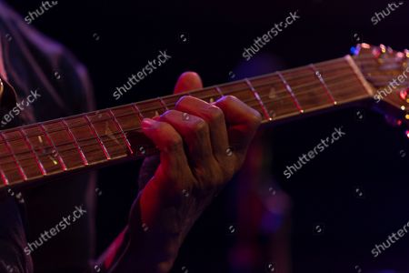 Kevin Eubanks performs for Eubanks Evans Experience during Winter Jazz Festival at (le) Poisson Rouge