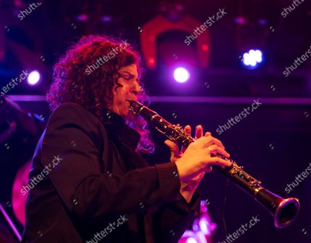 Stock Photo of Anat Cohen performs with Artemis band during Winter Jazz Festival at (le) Poisson Rouge