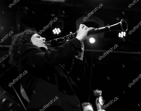 Anat Cohen performs with Artemis band during Winter Jazz Festival at (le) Poisson Rouge