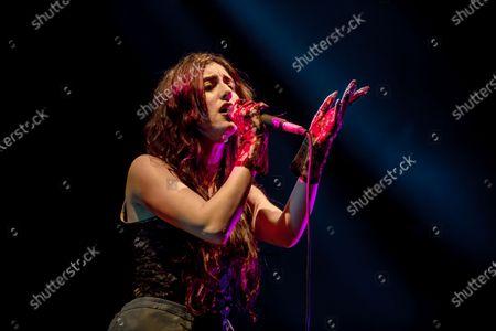 Editorial image of Naaz open act of Melanie Martinez gig, Milano, Italy - 25 Jan 2020