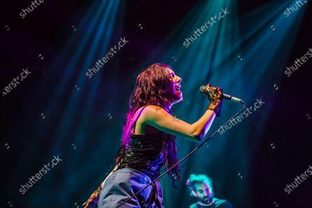 Editorial photo of Naaz open act of Melanie Martinez gig, Milano, Italy - 25 Jan 2020
