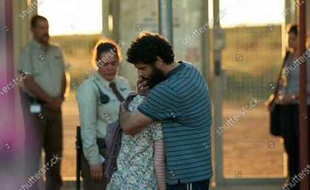 Rachel House as Harriet, Soraya Heidari as Mina and Fayssal Bazzi as Ameer