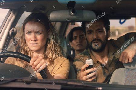 Yvonne Strahovski as Sofie Werner, Setareh Naghoni as Sepideh Shahrokh, and Phoenix Raei as Javad Shahrokh