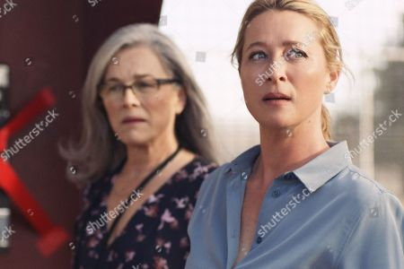 Stock Picture of Sarah Peirse as Genevieve Mudy and Asher Keddie as Clare Kowitz