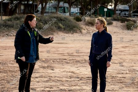 Emma Freeman Director and Asher Keddie as Clare Kowitz