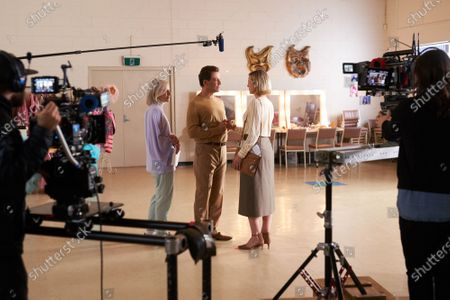 Cate Blanchett as Pat Masters, Dominic West as Gordon Masters and Marta Dusseldorp as Margot
