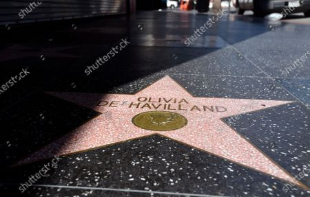 Editorial photo of Obit de Havilland, Los Angeles, United States - 27 Jul 2020