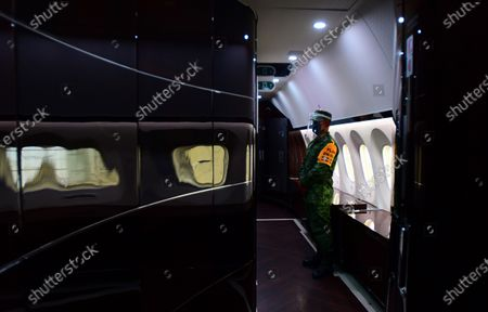 Editorial picture of Mexican presidential plane for sale, Mexico City - 27 Jul 2020