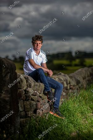 Editorial image of Olympic triathlete and former world champion Jonny Brownlee portrait session, London, UK - 20 Jul 2020