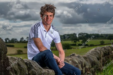 Editorial photo of Olympic triathlete and former world champion Jonny Brownlee portrait session, London, UK - 20 Jul 2020