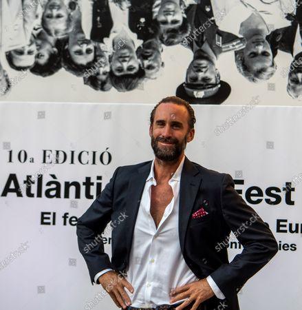 Joseph Fiennes upon arrival at opening ceremony at 'Atlantida Film Fest 2020', Palma de Mallorca, Spain, 27 July 2020.