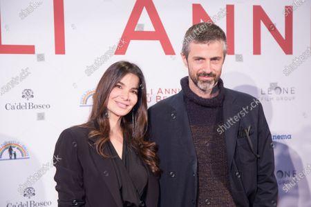Kim Rossi Stuart and Ilaria Spada