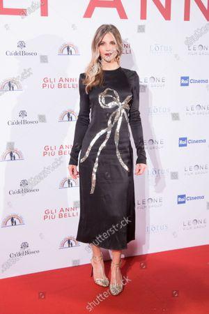 Editorial photo of 'Gli Anni Più Belli' film premiere, Arrivals,, Rome, Italy - 03 Feb 2020