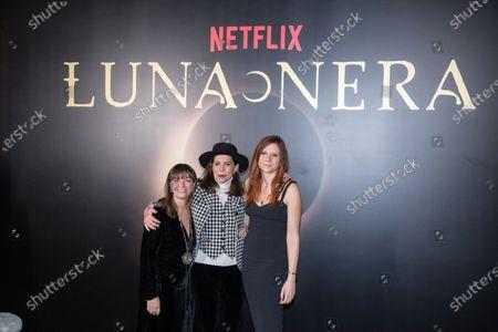 Directors Francesca Comencini, Susanna Nicchiarelli and Paola Randi