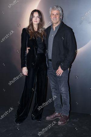 Domenico Procacci and Kasia Smutniak
