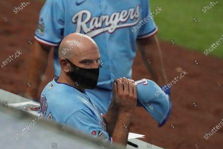 Editorial picture of Rockies Rangers Baseball, Arlington, United States - 26 Jul 2020