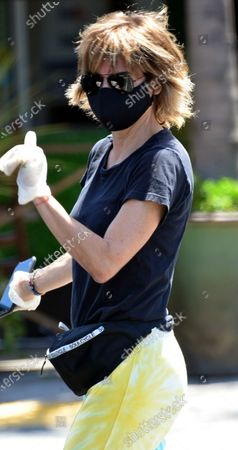 Editorial photo of Exclusive - Lisa Rinna out and about, Los Angeles, USA - 27 Jul 2020