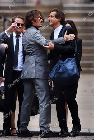 Editorial image of Johnny Depp v The Sun libel trial, The Royal Courts of Justice, London, UK - 28 Jul 2020