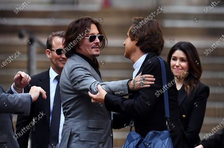 Editorial photo of Johnny Depp v The Sun libel trial, The Royal Courts of Justice, London, UK - 28 Jul 2020