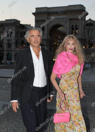 Bernard-Henri Lévy and Arielle Dombasle