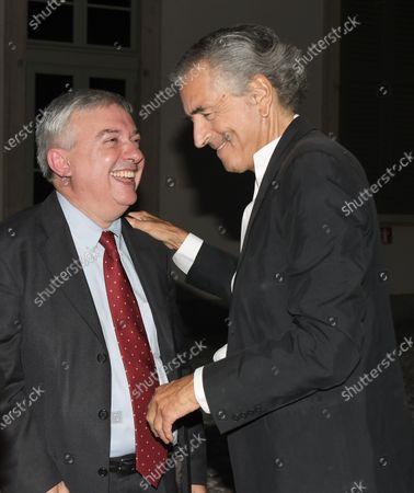 Maurizio Molinari, Bernard-Henri Lévy